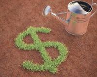 Cultivación del dólar ilustración del vector