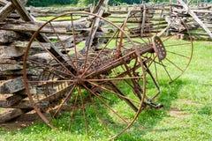 Cultivador idoso da exploração agrícola Fotografia de Stock Royalty Free