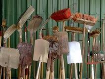 Cultivando ferramentas Foto de Stock Royalty Free