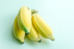 Cultivate banana Stock Image