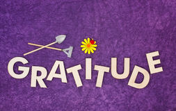 Cultivate Gratitude Concept With Wooden Capital Letters Royalty Free Stock Photo