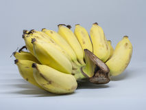 Cultivated bananas are ready to be eaten. The well known fruit in the world, bananas, are delicious, good for health, digestion and there are ready to be eaten Royalty Free Stock Photography