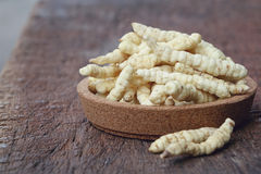 Cultivated Cordyceps Royalty Free Stock Image