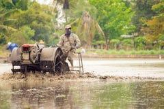 Cultivateur en Thaïlande Images libres de droits