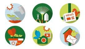 Cultivation d'icône de Web Images libres de droits