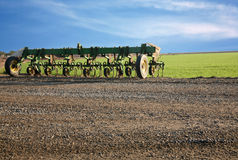 Cultivator farm equipment Stock Image