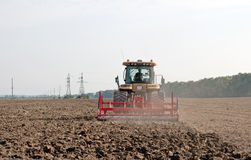 Cultivator Stock Photo