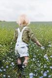 Cultive o crescimento sazonal da natureza do jardim foto de stock