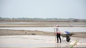 Cultivo de sal ou de evaporação de sal lagoa filme