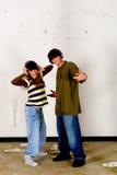 Cultivo del salto de la cadera, adolescentes Foto de archivo libre de regalías