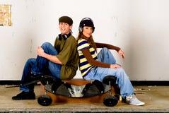 Cultivo del salto de la cadera, adolescentes Imagen de archivo libre de regalías