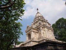 Culto bianco del tempio Fotografie Stock Libere da Diritti