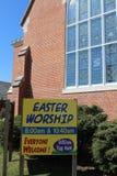 Culto di Pasqua immagini stock