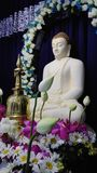Culto a Lord Buddha Fotografia Stock Libera da Diritti