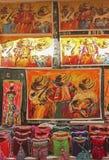 Cultura andina fotografia de stock