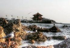 Cultura china en qindao foto de archivo