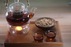 Cultura chinesa do chá Imagens de Stock Royalty Free