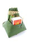 Cultura comestible de la consumición de la palma de betel de la hoja del betel de Tailandia Imagen de archivo libre de regalías