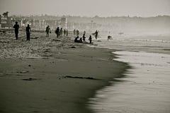 Cultura costera de California fotografía de archivo