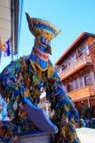 Cultura da dança de Ghost em Chiangkhan Imagem de Stock