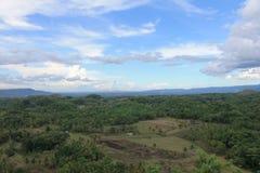 A cultura da plantação ajardina a ilha Filipinas de Bohol fotos de stock