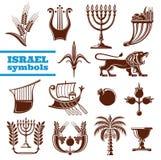 Cultura de Israel, história, símbolos da religião do judaism ilustração stock