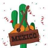 Cultura de México e projeto do marco Imagem de Stock Royalty Free