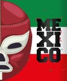 Cultura del Messico e progettazione del punto di riferimento Immagini Stock Libere da Diritti