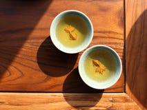 Cultura del tè Fotografie Stock