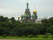 Cultura della Russia di architettura della cattedrale del perervurg del san culturale Fotografie Stock