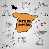 Cultura della Spagna Fotografie Stock