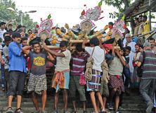 Cultura di Hinduismo Fotografia Stock Libera da Diritti