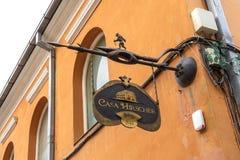 Cultura e historia en Brasov, en Rumania Imágenes de archivo libres de regalías