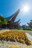 Cultura e vita tradizionali di Toraja Fotografie Stock