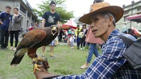 Cultura Eagle Show originale creativo della contea di Hualien Fotografia Stock
