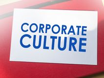Cultura empresarial, conceito inspirador das cita??es das palavras do neg?cio ilustração do vetor