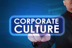 Cultura empresarial, conceito inspirador das cita??es das palavras do neg?cio imagem de stock royalty free