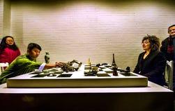Cultura francese in Cina Fotografia Stock