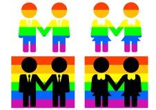 Cultura homosexual stock de ilustración