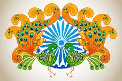 Cultura indiana ilustração royalty free