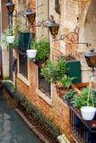 Pouco restaurante em Veneza Imagens de Stock