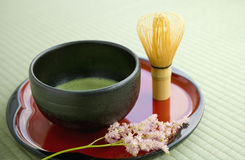 Cultura japonesa del té fotografía de archivo