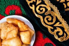 Cultura kazaka immagini stock