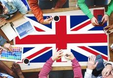 Cultura Liberty Concept de la nacionalidad de la bandera de país de Inglaterra fotos de archivo libres de regalías
