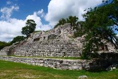 Cultura maia México Iucatão de Pyramide das ruínas de Ake foto de stock royalty free