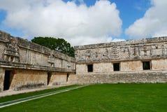 Cultura maia México Iucatão de Pyramide das ruínas de Uxmal Fotos de Stock