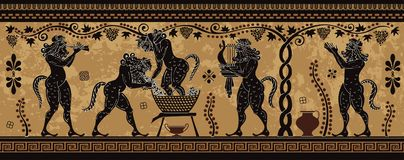 Cultura Mediterranea Mitologia di Grecia antica fotografie stock