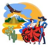 Cultura mexicana imagem de stock royalty free