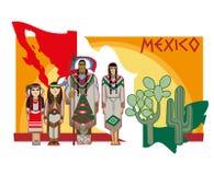 Cultura mexicana Imagens de Stock
