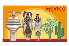 Cultura mexicana Fotos de Stock Royalty Free